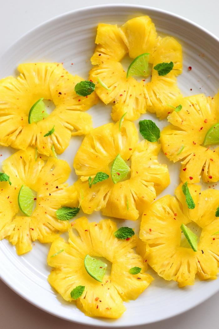ananassi carpaccio